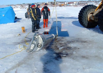 drilling-though-ice-chimos-drilling-excavating-regina